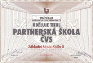 Partnerská škola ČVS